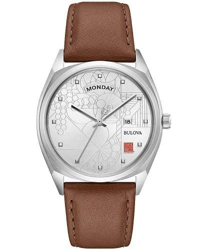 BULOVA 96C138 ブローバ フランクロイドライト メンズ ウォッチ 腕時計【送料無料】【代引手数料無料】