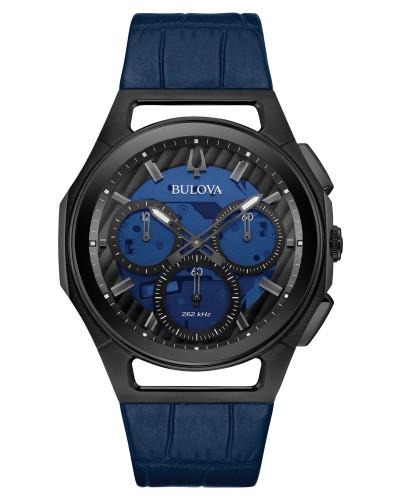 BULOVA 98A232 ブローバ メンズ クロノグラフ ウォッチ 腕時計 時計 ハイパフォーマンスクォーツ スケルトン【送料無料】【代引手数料無料】