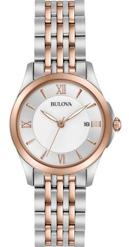BULOVA 98M125 ブローバ レディースウォッチ 女性用 腕時計【送料無料】【代引手数料無料】
