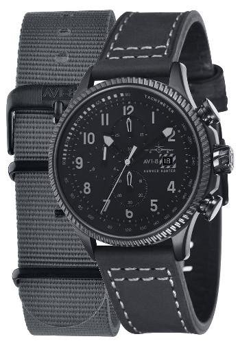 AVI-8 ホーカーハンター ミリタリー メンズ クロノグラフ ウォッチ 腕時計 AV-4036-05【送料無料】【代引手数料無料】