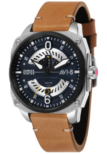AVI-8 ホーカーハンター ミリタリー メンズ デイデイトカレンダー ウォッチ 腕時計 AV-4057-02【送料無料】【代引手数料無料】