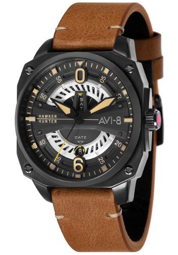 AVI-8 ホーカーハンター ミリタリー メンズ デイデイトカレンダー ウォッチ 腕時計 AV-4057-04【送料無料】【代引手数料無料】