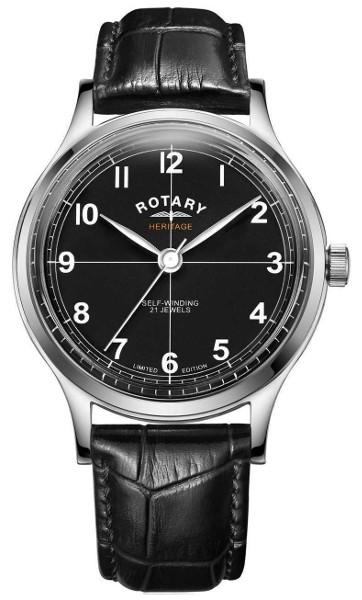 ROTARY GS05125/04 ロータリー ヘリテージ 自動巻 オートマ ウォッチ 時計 メンズ