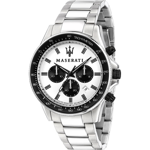 【ベルト調整無料】Maserati マセラティ R8873640003 時計 メンズ ウォッチ 腕時計 クロノグラフ カーブランド