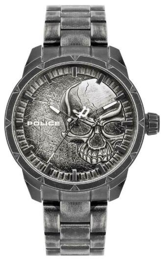 【ベルト調整無料】POLICE PL15715JS.78M ポリス スカル メンズ ウォッチ 腕時計 【送料無料】