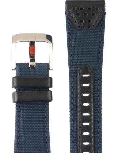 【時計ベルト、バンド】SEIKO キャンバスベルト 24mm 純正ベルト ストラップ L0F6011J0