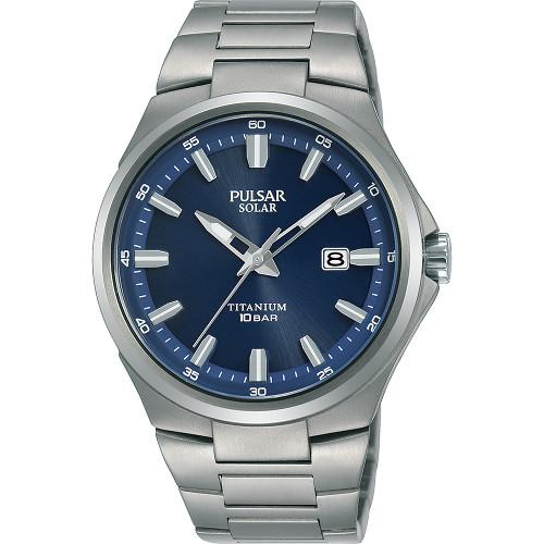 【ベルト調整無料】SEIKO セイコー PULSAR PX3211X1 パルサー チタン メンズ ウォッチ 時計