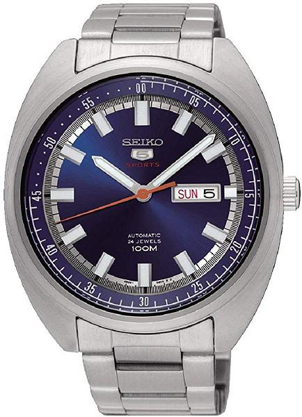 SEIKO 5 SRPB15 セイコー ファイブ タートル 自動巻 オートマ メンズ ウォッチ 時計 ブルー