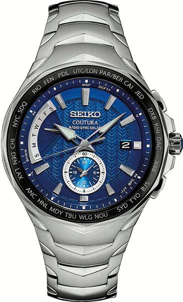 【ベルト調整無料】セイコー 電波ソーラー ワールドタイム メンズ ウォッチ 腕時計 SEIKO SSG019【送料無料】【smtb-KD】