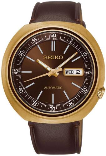 SEIKO SRPC16 セイコー 逆輸入 海外モデル 自動巻 オートマ メンズ ウォッチ 時計 ブラウン ゴールド【送料無料】【代引手数料無料】【smtb-KD】
