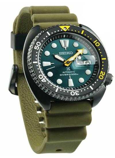 SEIKO SRPD45K1 セイコー プロスペックス 自動巻 ダイバー メンズ ウォッチ 200m防水 限定 エメラルドグリーン