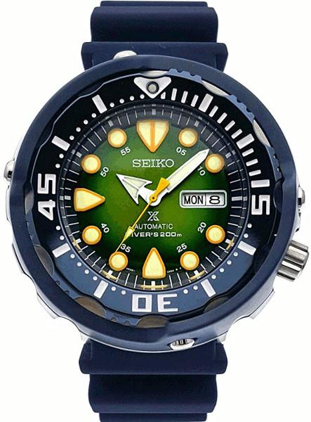 限定モデル SEIKO SRPA99 逆輸入 セイコー プロスペックス 自動巻 ダイバーズ メンズ ウォッチ 200m防水 グリーン 【送料無料】