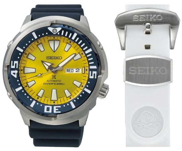 限定モデル SEIKO SRPD15K1 Butterflyfish セイコー プロスペックス 自動巻 ダイバーズ メンズ ウォッチ 200m防水 イエロー