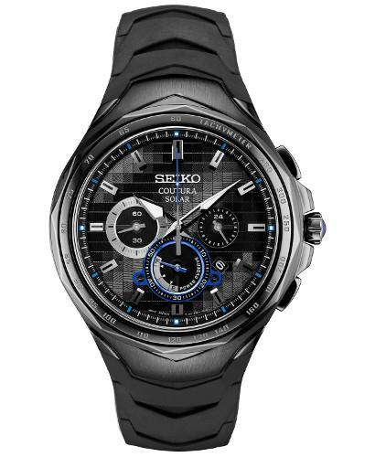 SEIKO SSC745 セイコー Coutura クロノグラフ メンズ ウォッチ 腕時計 時計 逆輸入 ラバーベルト【送料無料】【代引手数料無料】