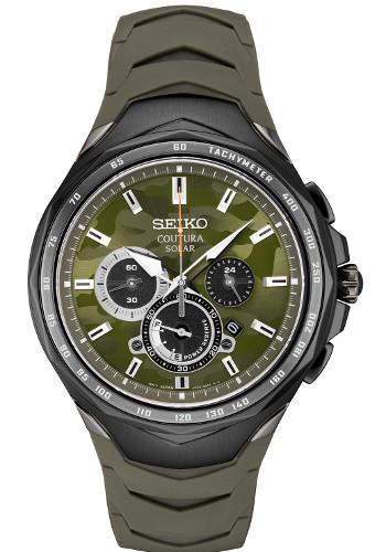 SEIKO SSC747 セイコー Coutura クロノグラフ メンズ ウォッチ 腕時計 時計 逆輸入 ラバーベルト【送料無料】【代引手数料無料】