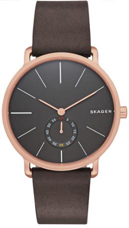 Skagen スカーゲン SKW6213 メンズ 腕時計 ウォッチ レザーベルト 【送料無料】【smtb-KD】