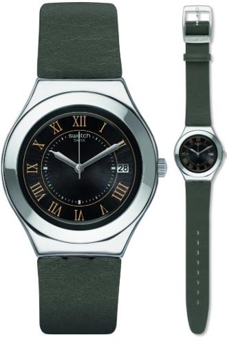 SWATCH YGS477 スウォッチ ウォッチ 腕時計 時計 メンズ レザーベルト【送料無料】