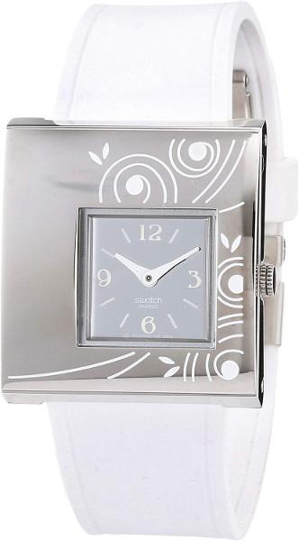 【送料無料】SWATCH YUS124 スウォッチ 腕時計 時計 レディース 角 ホワイト