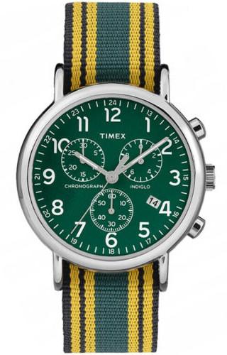Timex ABT004 タイメックス メンズ クロノグラフ 時計 ウォッチ グリーン イエロー