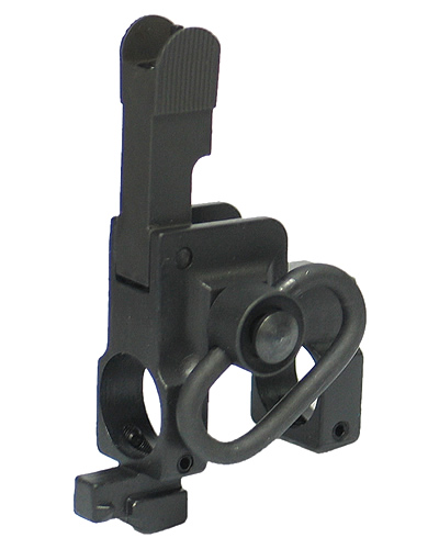 KA-FS-01-B Tactical Flip Up Front Sight with Sling Swivel for Marui