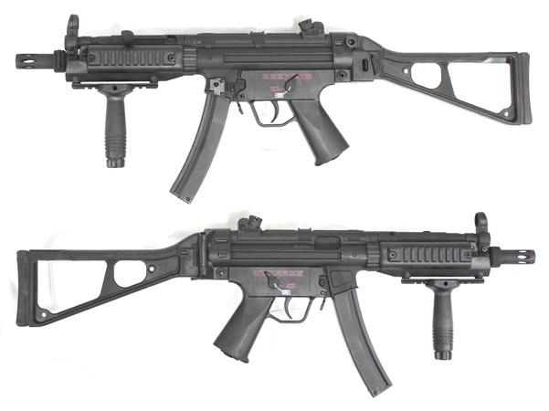 《4月8日再入荷商品》CM041 MP5 B&Tストック Ver 電動ガン【180日間安心保証つき】