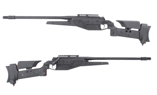 《4月30日再入荷商品》KING ARMS Blaser R93 LRS1 BK(エアー)【高級版】