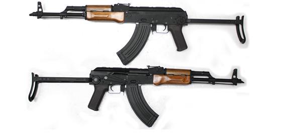 CM048S AKMS フルメタル&木製ハンドガード付き電動ガン【180日間安心保証つき】