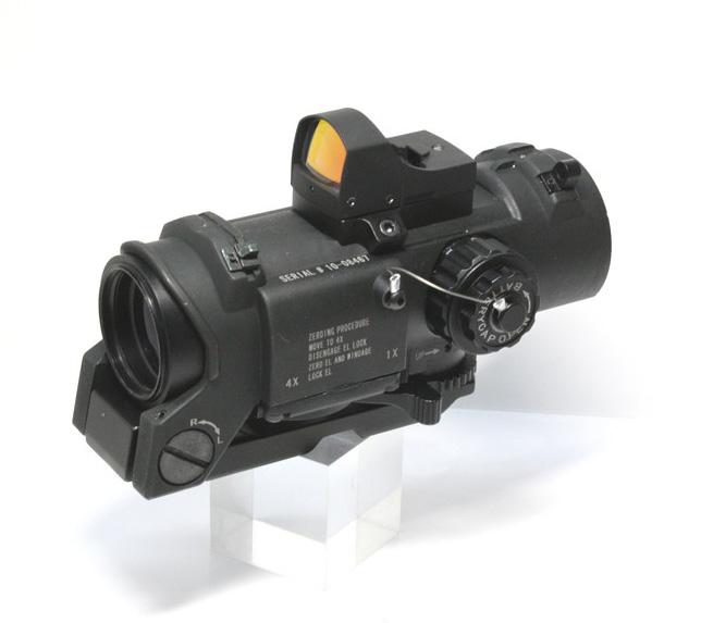 ELCAN Specter DR1-4xスコープドットサイト付