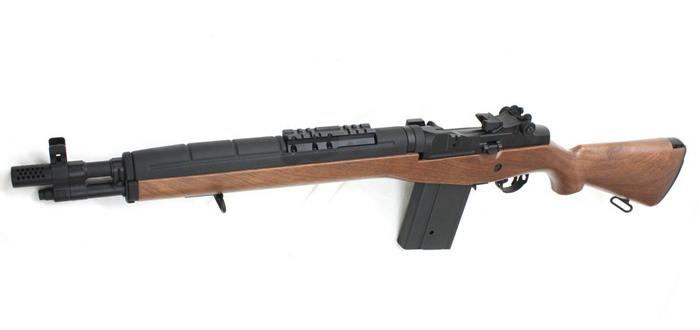 CM032AW M14 SOCOM 電動ガン(フェイクウッド)【180日間安心保証つき】