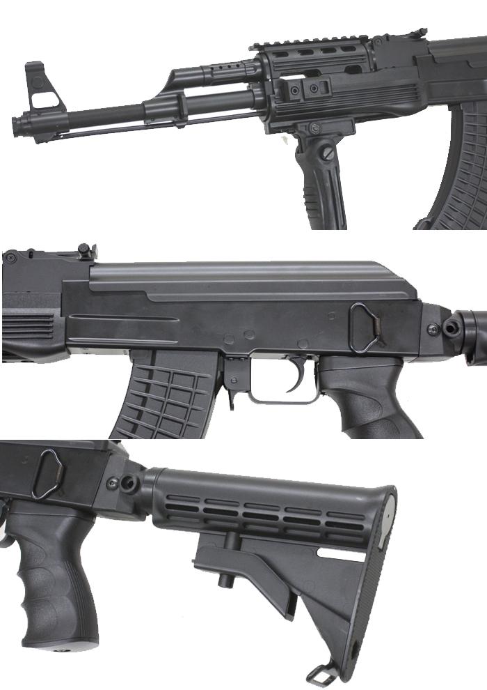 CM522C AK47 タクティカル M4ストック スポーツライン電動ガン 180日間安心保証つき5jAL4R