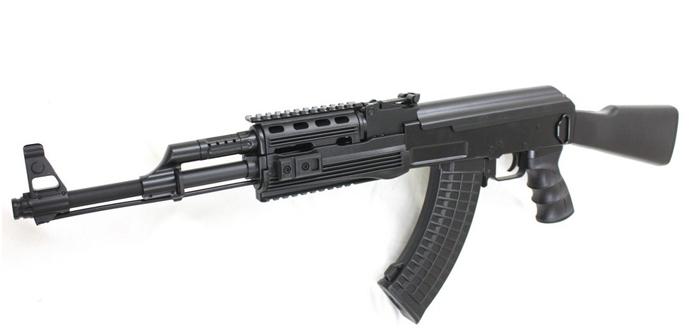 【本体セット】CM520 AK47タクティカル固定ストック スポーツライン電動ガン【スペシャル6点セット】