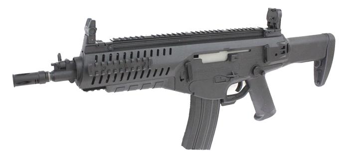 《3月31日再入荷商品》S&T Beretta ARX160 CQB 電動ブローバック BK【180日間安心保証つき】
