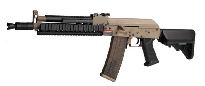 《2月28日再入荷商品》電動ガン MATRIX M-Style AK フルメタルTAN