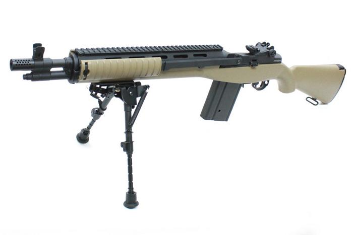 【2/27更新!掘り出し物フェア 対象商品】MATRIX Knight's M14 SOCOM 電動ガン TAN