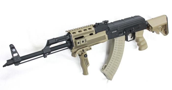 MATRIX AKM Legion Tac. ブローバック電動ガン