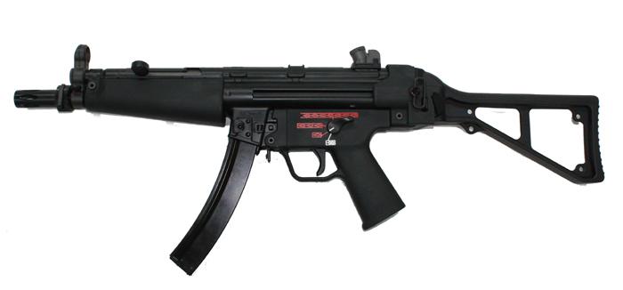 《4月9日再入荷商品》We-Tech MP5 B&Tストック ガスブローバック