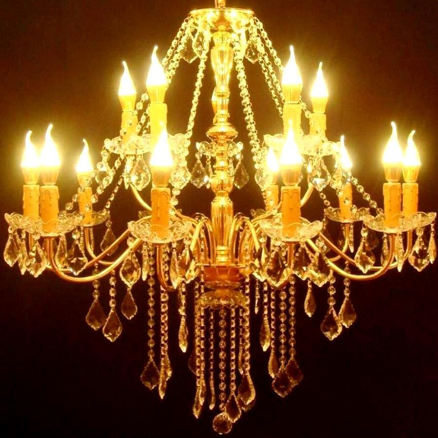 照明 おしゃれ 照明器具 今なら アンティーク LED led インテリア 豪華シャンデリア シンプル 照明 照明器具 LED led 吹き抜け おしゃれ照明 モダン 洋風シャンデリア LED クリスタルシャンデリア 大型 ゴールド 2段 15灯