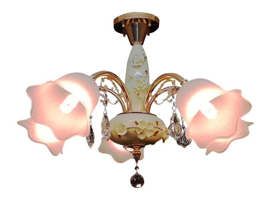 シーリング シャンデリア 照明 天井照明 ライト おしゃれ 送料無料シャンデリア 照明 天井照明 LED シャンデリア シェード インテリアアンティーク シャンデリア リビング 照明 ダイニングライト 人気商品シャンデリア ゴールド 5灯 簡易取付型