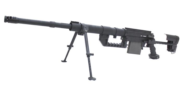 《3月31日再入荷商品》S&T Chey-Tac M200 エアーコッキングライフル BK ※ハードガンケース付き