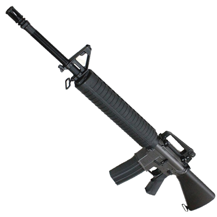 《4月8日再入荷商品》CM009BK M16A4 フルメタル電動ガン BK【180日間安心保証つき】