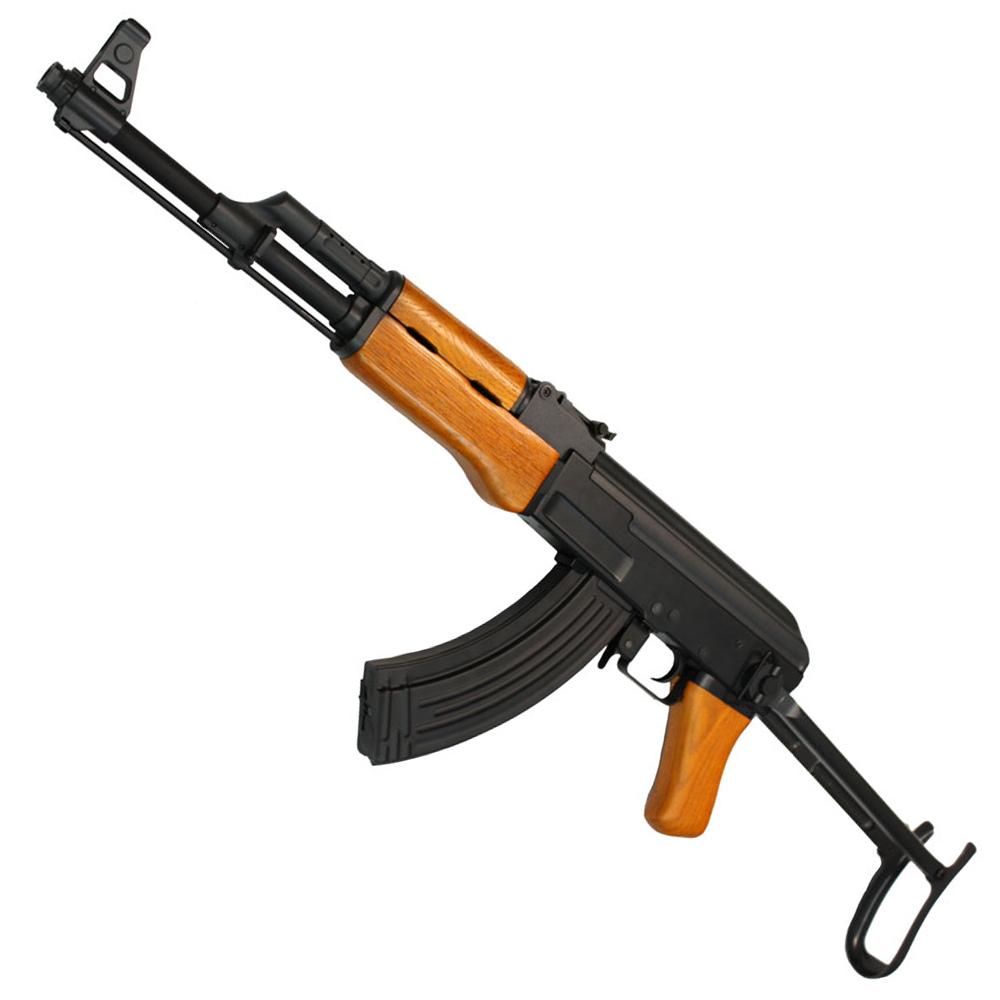 【掘り出し物フェア 対象商品】CM042S AK-47S 電動ガン(リアルウッドハンドガードver)【180日間安心保証つき】