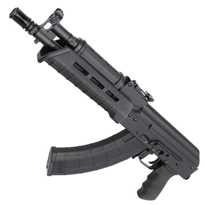 【復活!CQBフェア 対象商品】CM077C Century Arms RAS47 Pistol フルメタル電動ガン BK【180日間安心保証つき】