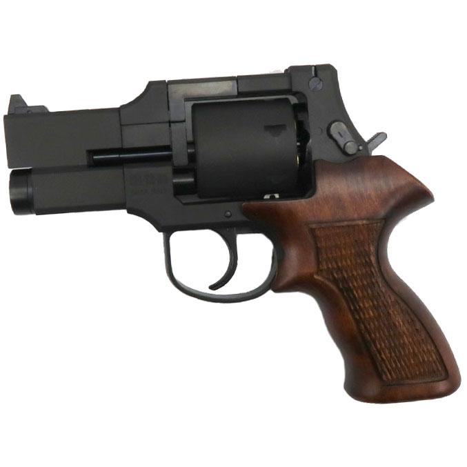 マルシン マテバリボルバー/6mm/X/ABS/MB/ショート/木グリ