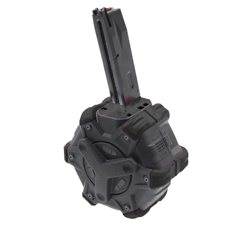 【第1弾!GWフェア 対象商品】ARMORER WORKS 350連 アダプティブドラムマガジン AW/WE M9 GBB用 B/B