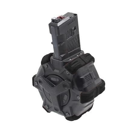 【第1弾!GWフェア 対象商品】ARMORER WORKS WE M16/M4シリーズ GBB用 アダプティブ ドラムマガジン B/B