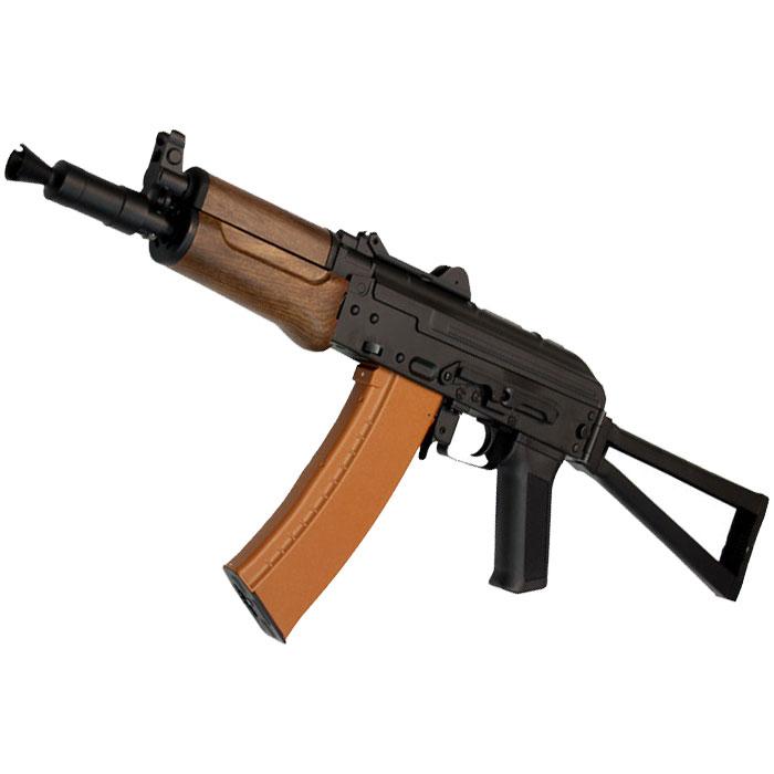 【復活!CQBフェア 対象商品】CM035 AKS-74UN(プラスチックハンドガード) 電動ガン【180日間安心保証つき】