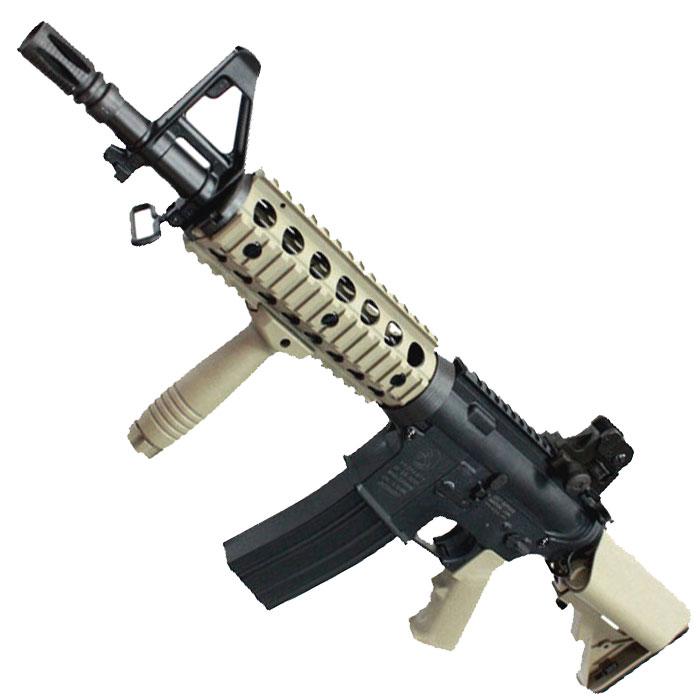 【サバゲセットフェア 対象商品】CM606TAN M4 CQB-R FRP スポーツライン 電動ガン TAN【バッテリー/充電器/予備マグ/バイオ弾つき!】