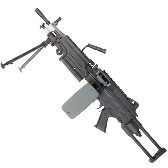 A&K M249 PARA フルメタル電動ガン【180日間安心保証つき】