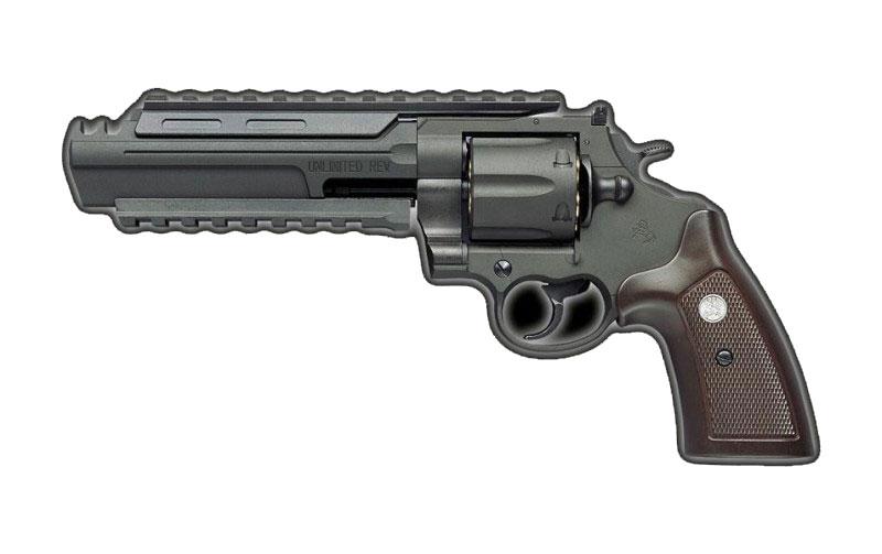 マルシン アンリミテッドリボルバー 6mm Xカートリッジ ABS ダブルディープブラック