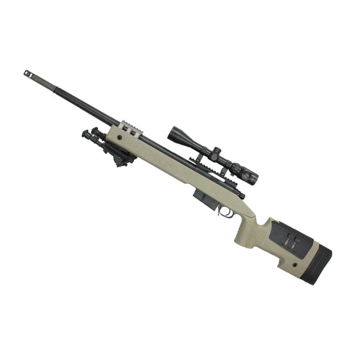 【厳選!スプリング フェア 対象商品】S&T M40A5 エアーコッキング ライフル DE(無刻印)【180日間安心保証つき】